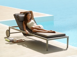 "Relax Designer Sonnenliege ""Conic"""