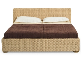 Rattanmöbel, Rattanbett, Bambusbett, Rattan Schlafzimmer ...